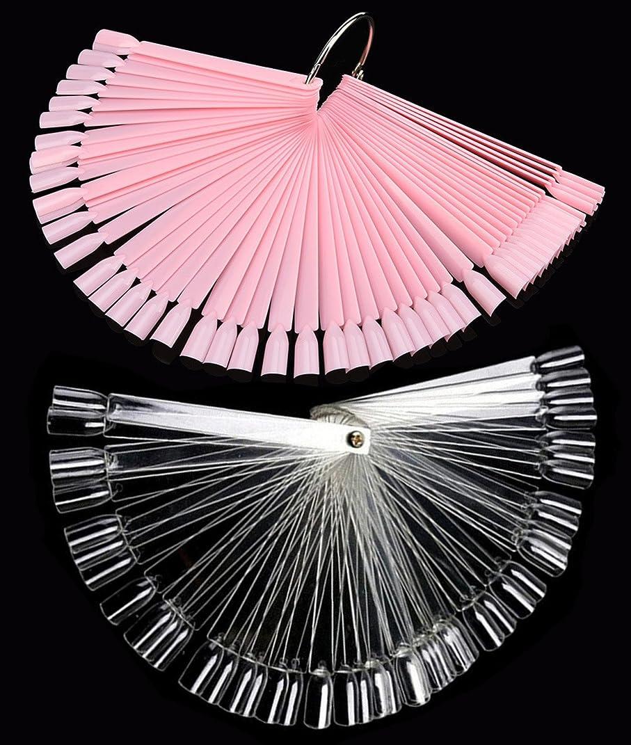 コカイン労働者作曲家ネイル カラーチャート 100枚 折り畳み式 プロ専用 新人練習用 ネイル カラーチャート