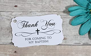 personalized favor tags for baptism