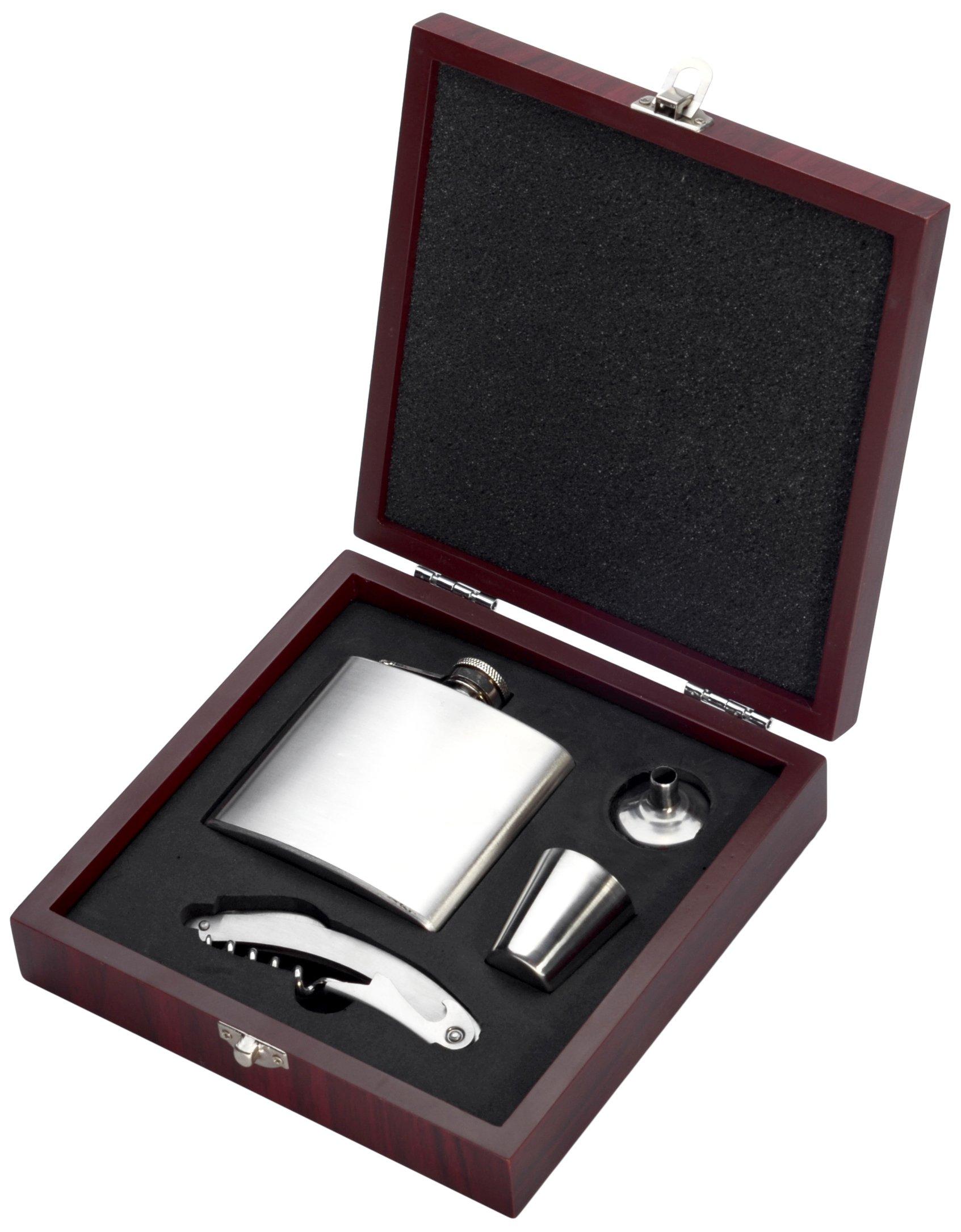 Compra Pradel Excellence RT802FLA - Estuche con petaca para Alcohol y Accesorios, 20, 8 x 19, 6 x 5, 3 cm en Amazon.es