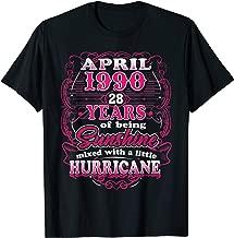 April 1990, 28 Years Of Being Sunshine Birthday T-Shirt
