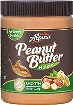 Alpino Natural Peanut Butter Smooth 400g (Unsweetened / Gluten Free / Non-GMO)