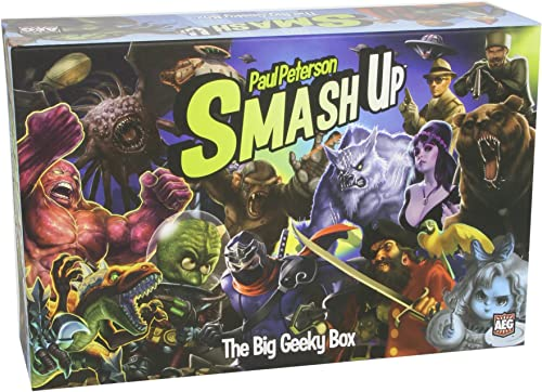 a precios asequibles Smash Up  The Big Geeky Box Card Game Expansion Expansion Expansion  la calidad primero los consumidores primero