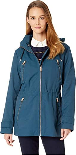 Raincoat Anorak w/ Detachable Hood