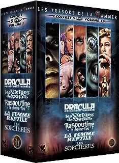 Coffret Hammer N°1 Dracula, prince des ténèbres / Les sorcières de Cyril Frankel / La femme reptile / Raspoutine le moine fou / Les vierges de Satan
