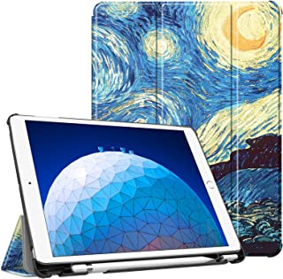 Fintie iPad Pro 10.5 Case with Built-in Apple Pencil Holder - [SlimShell] Ultra Lightweight Standing Protective Cover with...