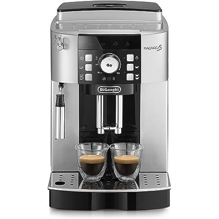 Delonghi ECAM 21.117.SB Espresso Machine, 1450 W, 250 kilograms, Noir, Argent