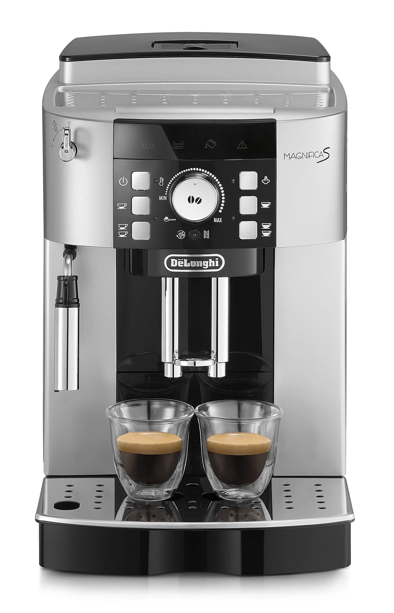 DeLonghi ECAM 21.117.SB Máquina espresso, 1450 W, 1.8 litros, plástico, Plateado/Negro: Amazon.es: Hogar