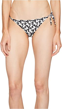 Iconic Prints Tie Side Bikini Bottom