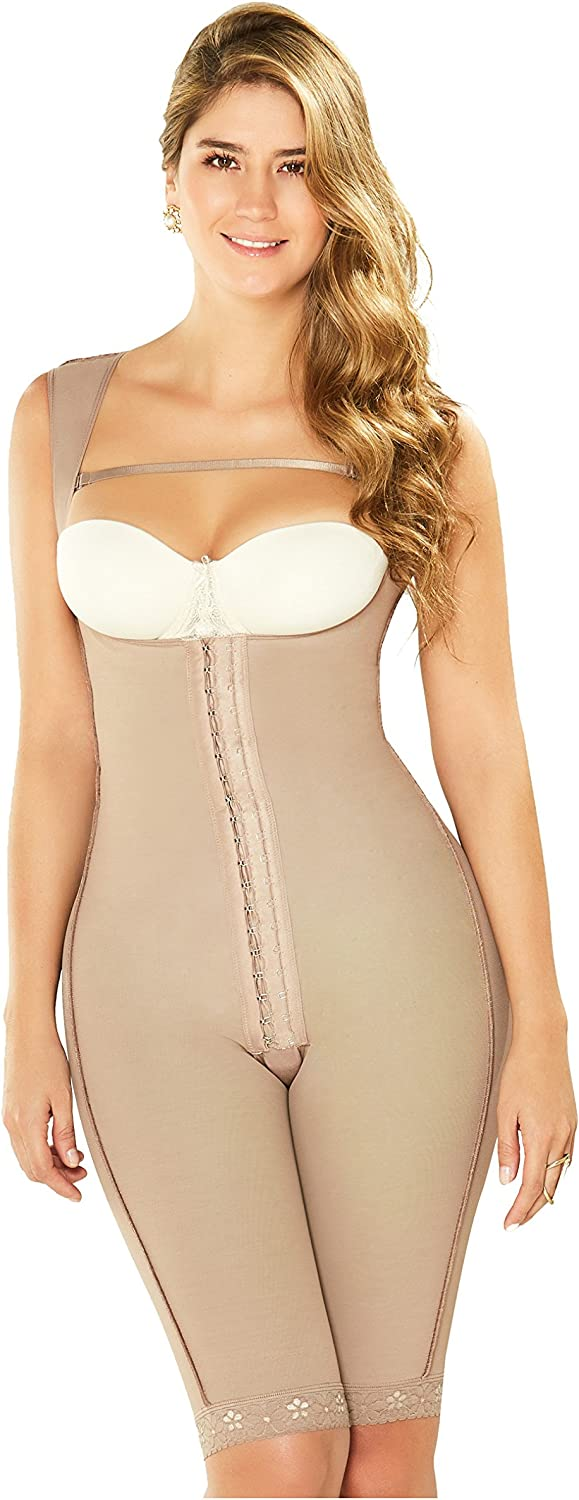 DIANE & GEORDI 2498 KneeLength Full Body Shaper for Women   Fajas Colombianas