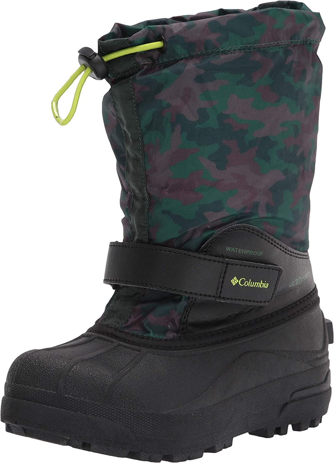 Columbia Unisex-Child Powderbug Max 74% OFF Forty Snow Print New product! New type Boot