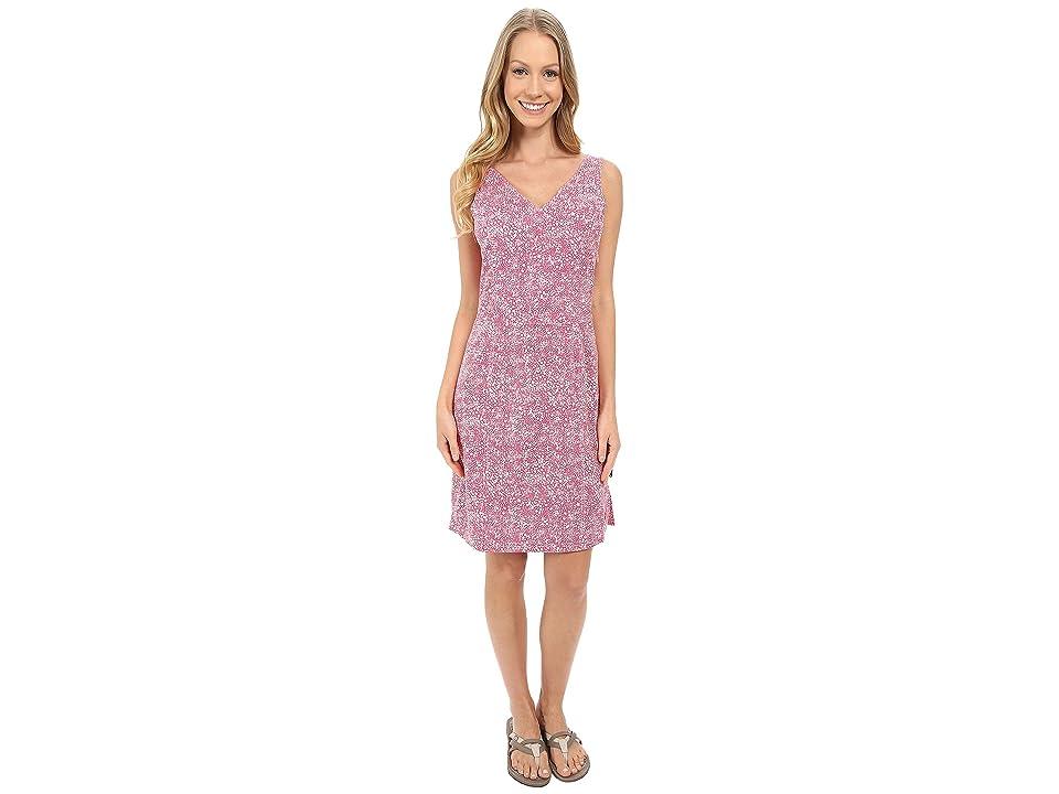 Jack Wolfskin Wahia Print Dress (Pink Raspberry All Over) Women