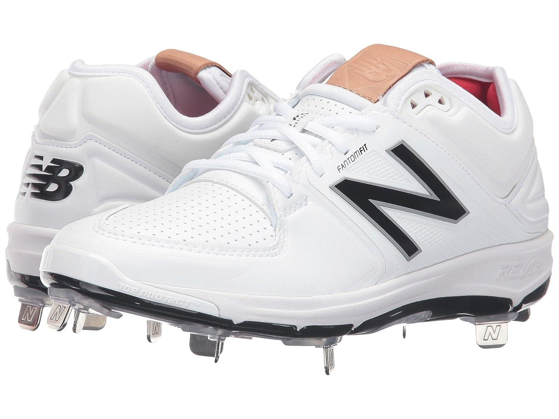 (ニューバランス) New Balance メンズ野球ベースボールシューズ?靴 L3000v3 White/White 15 (33.cm) EE - Wide