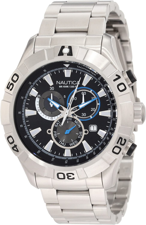 Nautica Men's N21529G J-80 Brand new 550 Indefinitely NST Watch