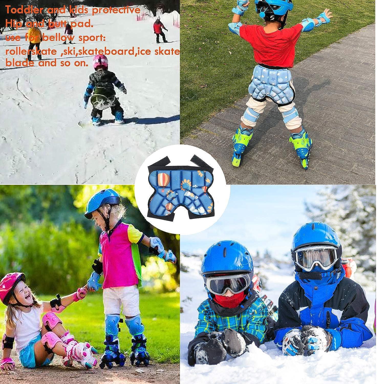 Natuway Kids Butt Hip Protection Shorts Pants for Ski Skate Snowboard Roller Skating