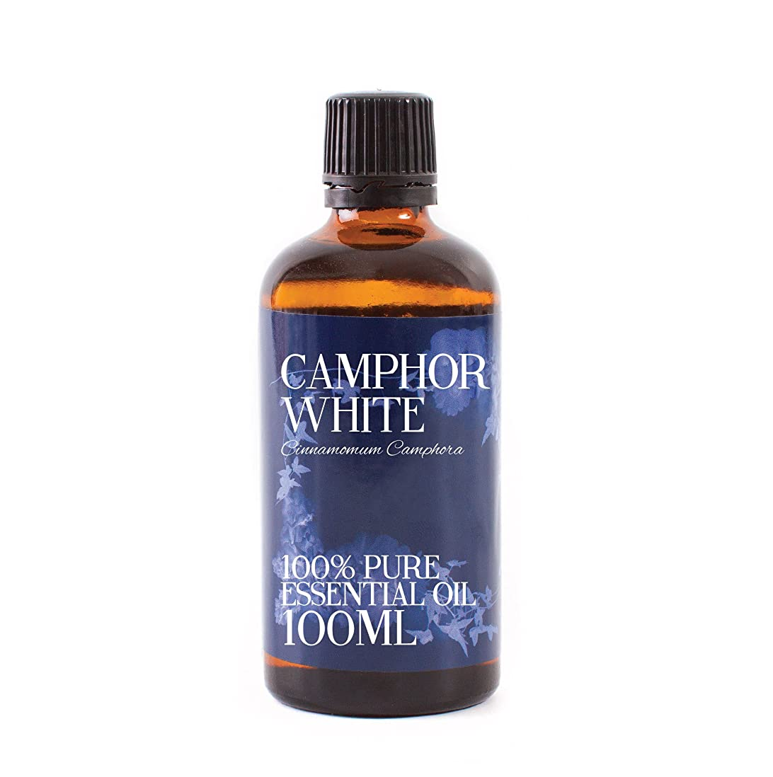 死すべきエンコミウム腫瘍Mystic Moments | Camphor Essential Oil - 100ml - 100% Pure