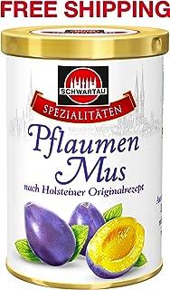 Plum Jam 350 g, Schwartau/Germany
