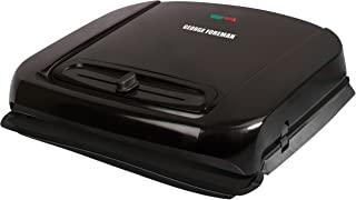 George Foreman GRP1001BP 6-Serving Removable Plate Grill, Black by George Foreman