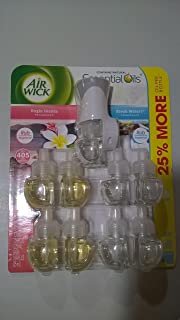 Air Wick scented oil plug in with 9 additional refills , Virgin Islands and Fresh Waters