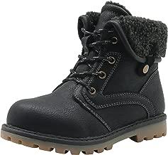Apakowa New Boy's Winter Martin Snow Boots (Toddler/Little Kid)