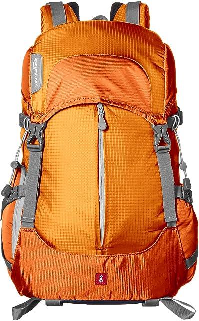 AmazonBasics - Mochila para cámara para senderistas - Naranja