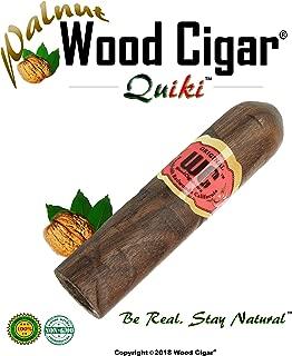 Humboldt Brands® Stogie Pipe - Discreet Cigar Pipe - Original Organic Natural Tobacco Smoking Pipe (Walnut, 3 Inches)