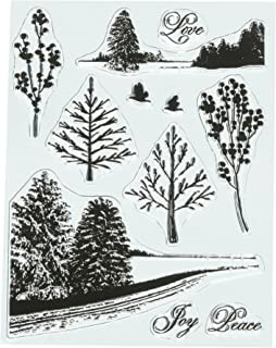 Penny Black Series Clear Stamp Set 30-450 Peaceful Winter