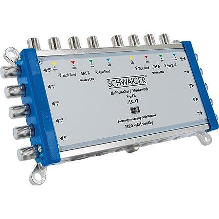 Goobay 67266 Sat Multischalter 9 Eingänge Elektronik