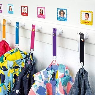 Cintas personalizadas para colgar la ropa de los niños sin