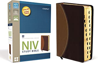 NIV Study Bible, Compact Indexed, Small Print