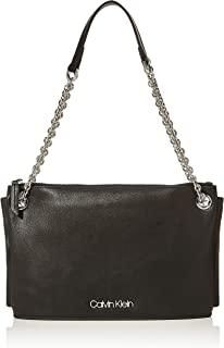 Calvin Klein Chained Convertible Shoulder Bag, Black, 50 cm, K60K606042