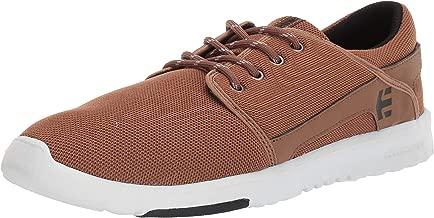 Etnies Men's Scout Skate Shoe tan/Black 13 Medium US
