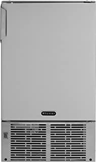 Whynter MIM-14231SS 14'' Undercounter Automatic Stainless Steel Marine 23lb Daily Output Ice Makers, One Size