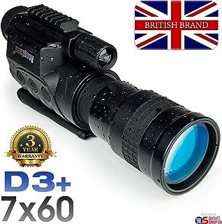 Rongland NV760D3 digital profesional visión nocturna - Garantía de 3 años. Marca del Reino Unido