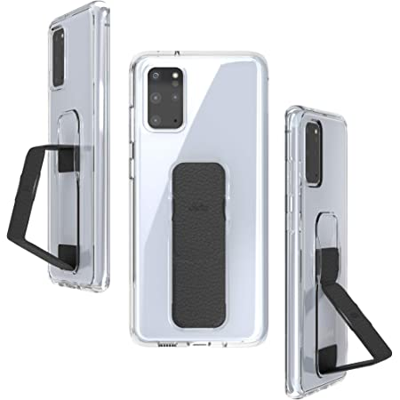 CLCKR Samsung Galaxy S20+ Case Cover with Stand for Viewing and Grip - Black