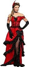 Women's Western Bartender Costume Plus Size Saloon Gal Costume