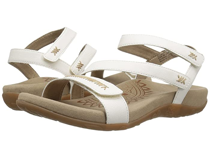 Aetrex  Gabby (White) Womens Sandals