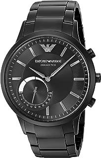 Emporio Armani Men's ART3001 Black Connected Hybrid Smartwatch
