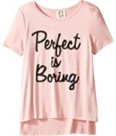 People's Project LA Kids - Perfect is Boring Tee (Big Kids)