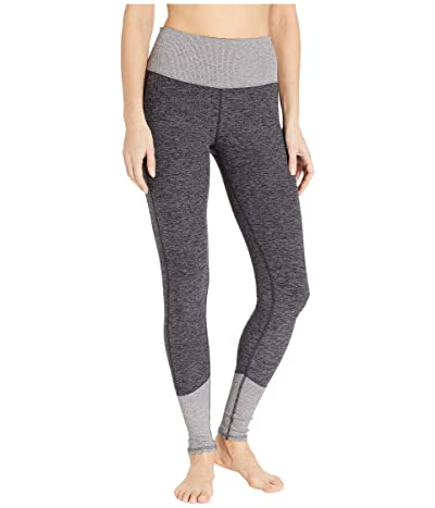 ALO High Waist Lounge Leggings (Dark Heather Grey/Dove Grey Heather) Women