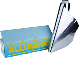 Ollas Agnelli coal169F Linea Aluminio 3mm Rollo Folio de Aluminio Fina, 140MT