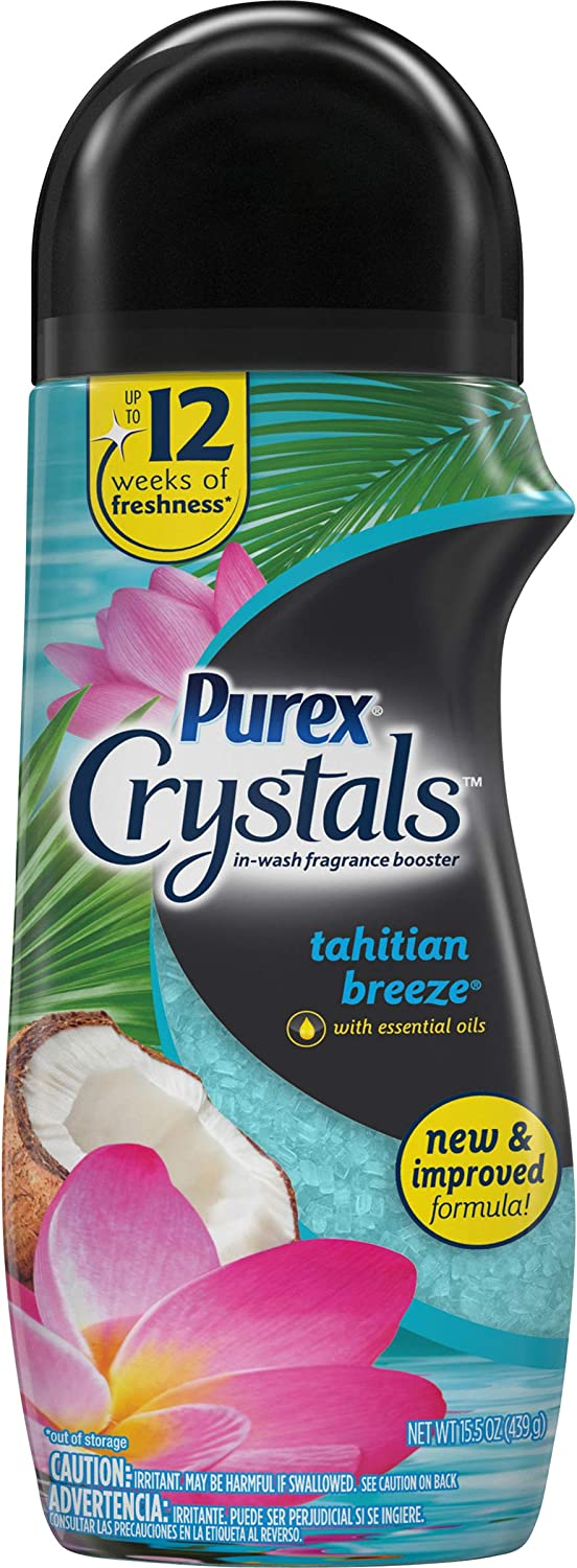 Purex Crystals In-Wash Fragrance Booster Translated and Scent Aromatherapy 2021 new