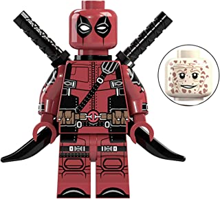 Deadpool X-Men Series Marvel Superhero Mini Action Figure Comic Book Character Movie Red & Black