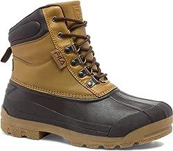 Fila Men's Weathertech Extreme Walking Shoe, Wheat/Espresso/Gum, 9.5 M US
