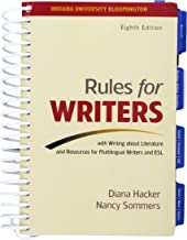 Rules for Writers Eighth Edition (Indiana University Bloomington)