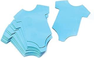 Darice 1405-206 24Piece, Baby Onesie Gift Tags, Blue
