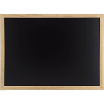 U Brands Chalkboard, 17 x 23 Inches, Oak Frame (310U00-01)