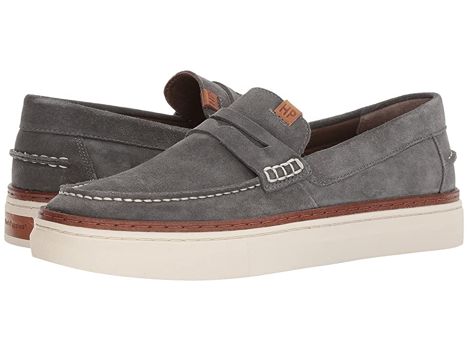 Hush Puppies Stream Arrowood (Dark Grey Suede) Men