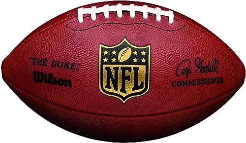 """Wilson, Ballon de Foootbal américain, American Football, NFL """"The Duke"""", Pour les joueurs et collectionneurs ambitieu..."""