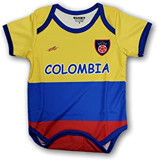 Arza Sports Colombia Soccer Baby Outfit Mameluco One Piece Jumpsuite