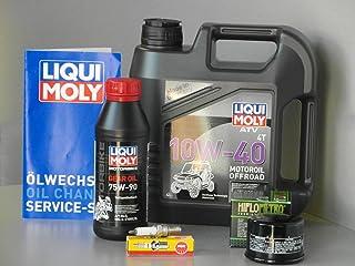 Onderhoudsset ATV/Quad Kymco MXU 500 4x4 /2x4, inspectie - oliefilter, kaars